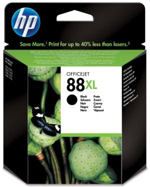 HP ink cartridge C9396AE HP 88XL zwart