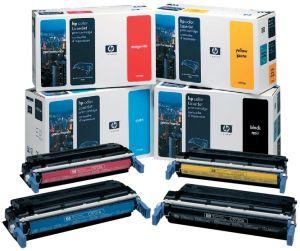 HP Tonercartridge zwart 641A - 9000 pagina's - C9720A