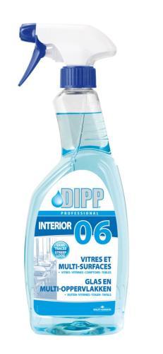 DIPP n°06 glas en multi-oppervlakken 750ml spray