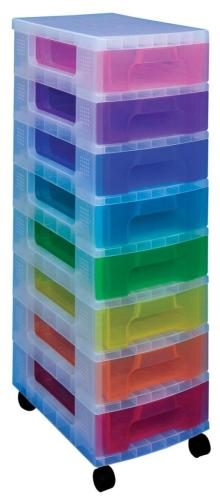 Really Useful Boxes ladekast 8 x 7liter,