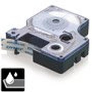 Dymo Tape D1 12 mm, wit, nylon flex