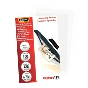 Fellowes lamineerhoes Capture125 54x86 mm, 250 micron, 100