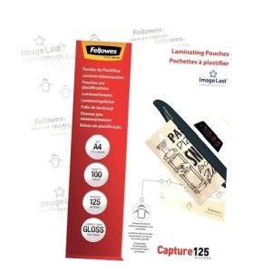 Fellowes lamineerhoes A4 125 micron (100)