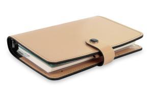 Filofax personal organiser The Original Patent leder beige