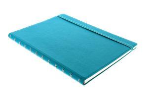 Filofax notitieboek Notes A4 gelijnd blauw Aqua