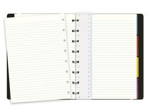 Filofax notitieboek Notes A5 gelijnd zwart