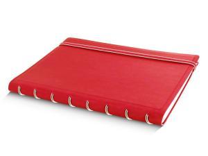 Filofax notitieboek Notes A5 gelijnd rood
