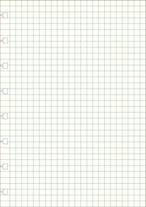Filofax notitieboek Notes A5 wit geruit