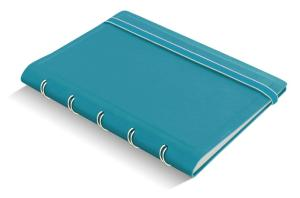 Filofax notitieboek pocket Notes gelijnd blauw Aqua