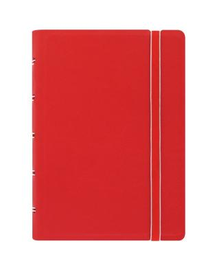 Filofax notitieboek pocket Notes gelijnd rood