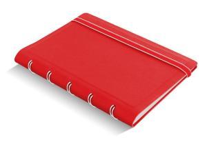 Filofax notitieboek pocket Notes gelijnd rood