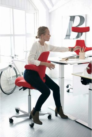 Ergonomische bureaustoel hag capisco