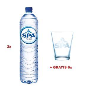 Actie: 2 x Spa Reine water 1,5L , 6stuks