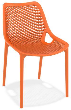 Kantinestoel / terrasstoel Air oranje