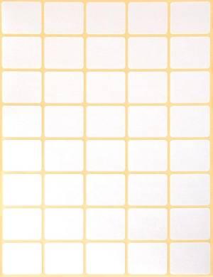 Avery Zweckform 3318 mini etiketten ft 22 x 18 mm (b x h), 1.200 etiketten, wit