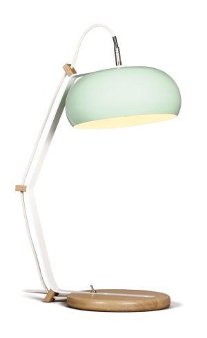 Bureaulamp Rhoda TBL Lampari groen - interieur wit