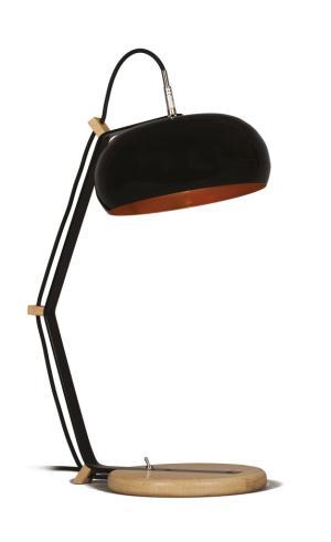 Bureaulamp Rhoda TBL Lampari zwart - interieur koper