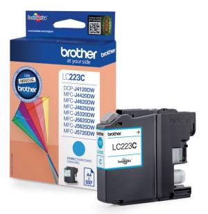 brother lc-223c inkt