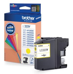Brother inkt cartridge LC-223Y Yellow