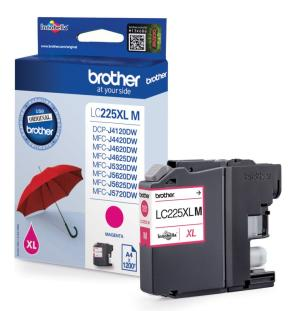 Brother inkt cartridge LC-225XLM magenta