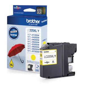 Brother inkt cartridge LC-225XLY Yellow