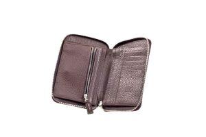 Portefeuille medium zipper wallet braun