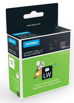Dymo vierkante labelwriter etiketten 25x