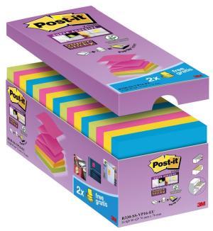 Value Pack Post-it® Super Sticky Z-Notes