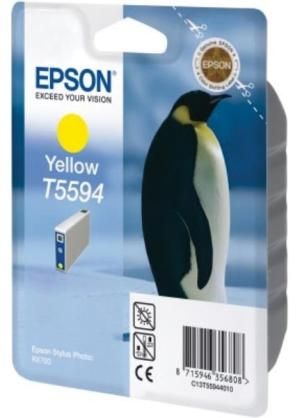 Epson ink cartridge T55944010 geelvoor R