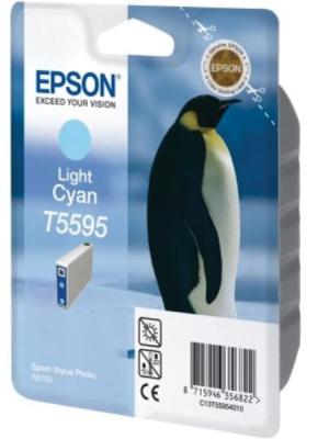 Epson ink cartridge T55954010 cyanvoor R