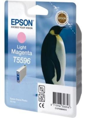 Epson ink cartridge T5596, licht rood vo