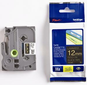 Brother P-Touch tape TZ-334 - 12 mmGold/