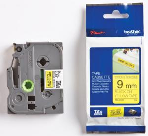 Brother P-Touch tape TZ-S621 - 9 mmBlack