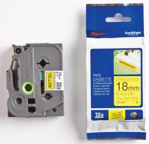 Brother P-Touch tape TZE-S641 - 18mm Bla