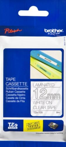 Brother P-Touch tape TZe-135 - 12mmWhite