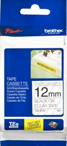 Brother P-Touch tape TZe-S131 - 12mm Bla