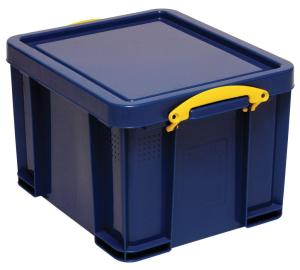 Really Useful Boxes opbergdoos blauw met