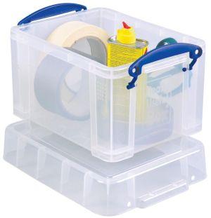 Really Useful Box opbergdoos 3 liter, transparant