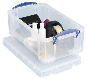 Really Useful Box opbergdoos 5 liter, transparant