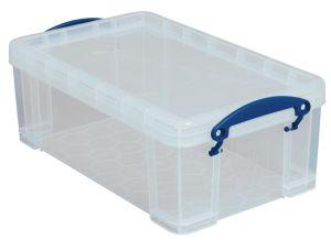 Really Useful Box opbergdoos 9 liter, transparant