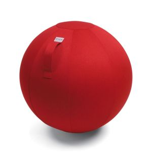 Vluv Leiv zitbal Ruby Red 55cm