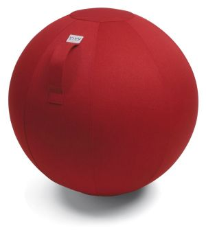 Vluv Leiv zitbal Ruby Red 65cm