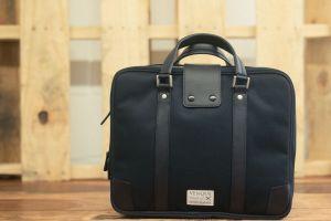Briefcase Hamptons black leather edition