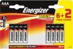Energizer batterijen Max AAA, blister va