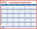 Memento kalender 33x42cm nederlands