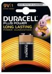 Duracell batterij Plus Power 9V, opblist