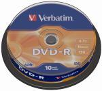 Verbatim DVD recordable DVD-R, 10 stuks