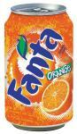 Fanta Orange, paquet de 24 pièces,33 cl