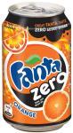Fanta zero blik - 33 cl - pak van 24