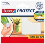 Tesa beschermvilt, rechthoekig, 100x80 m